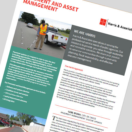Pavement and Asset Management Brochure