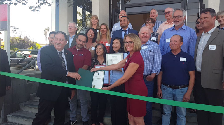 Harris' New Salinas Office Ribbon Cutting