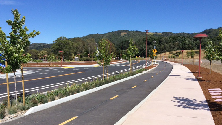 Marin County Civic Center Drive Circulation Improvements Project