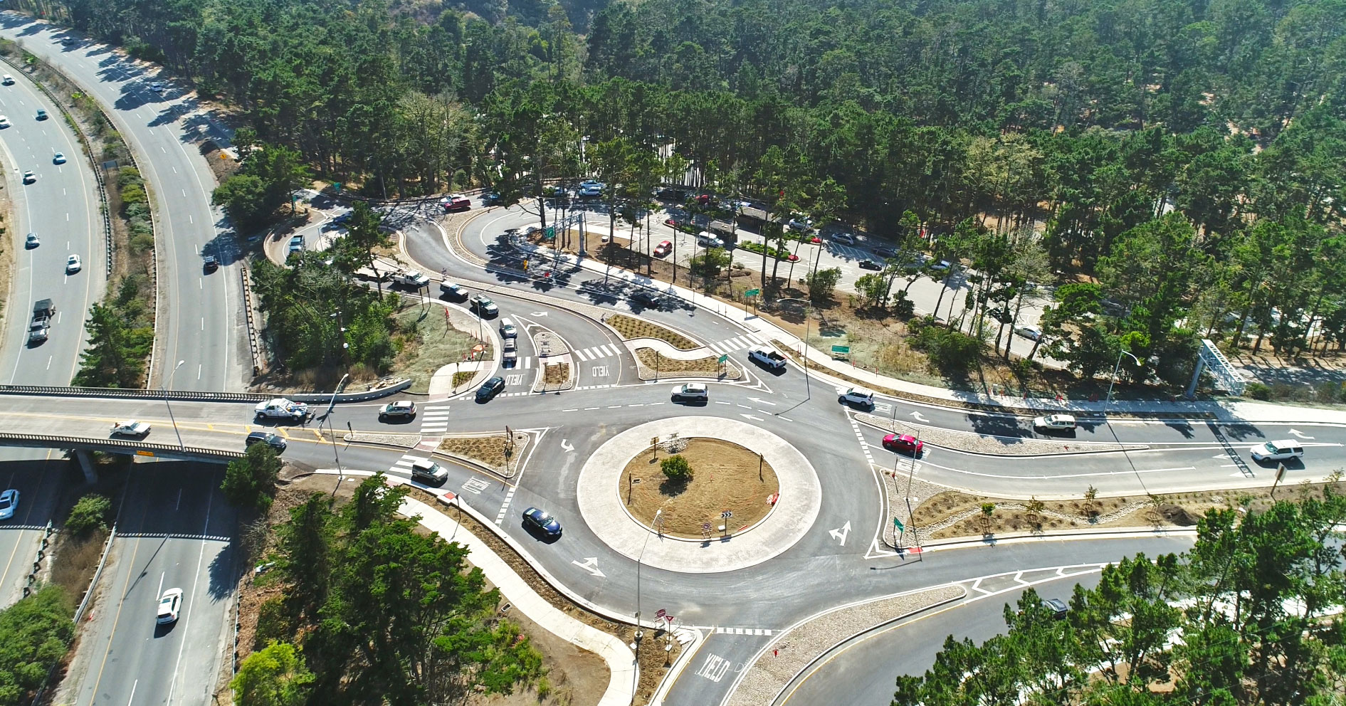 A Roundabout Way to Solve a Monterey Traffic Snarl: Holman Highway 68/State Route 1 Project