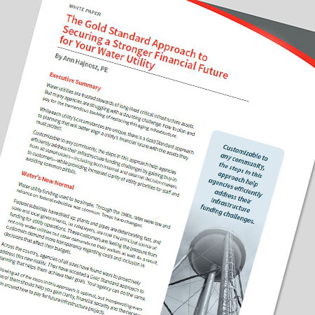 The Gold Standard Approach to Securing a Stronger Financial Future for Your Water Utility