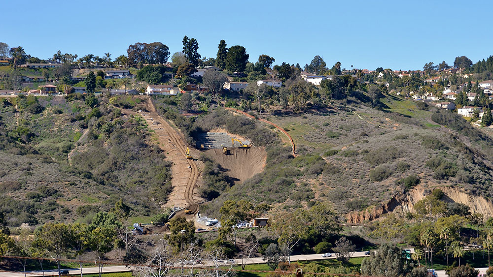 Desert View Drive Slope Repair and Restoration