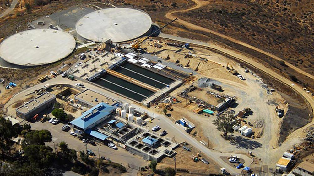 Otay Water Treatment Plant Expansion, Phases I and II