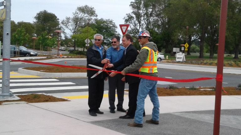 Harris Celebrates the Completion of the Civic Center Drive Circulation Improvements Project