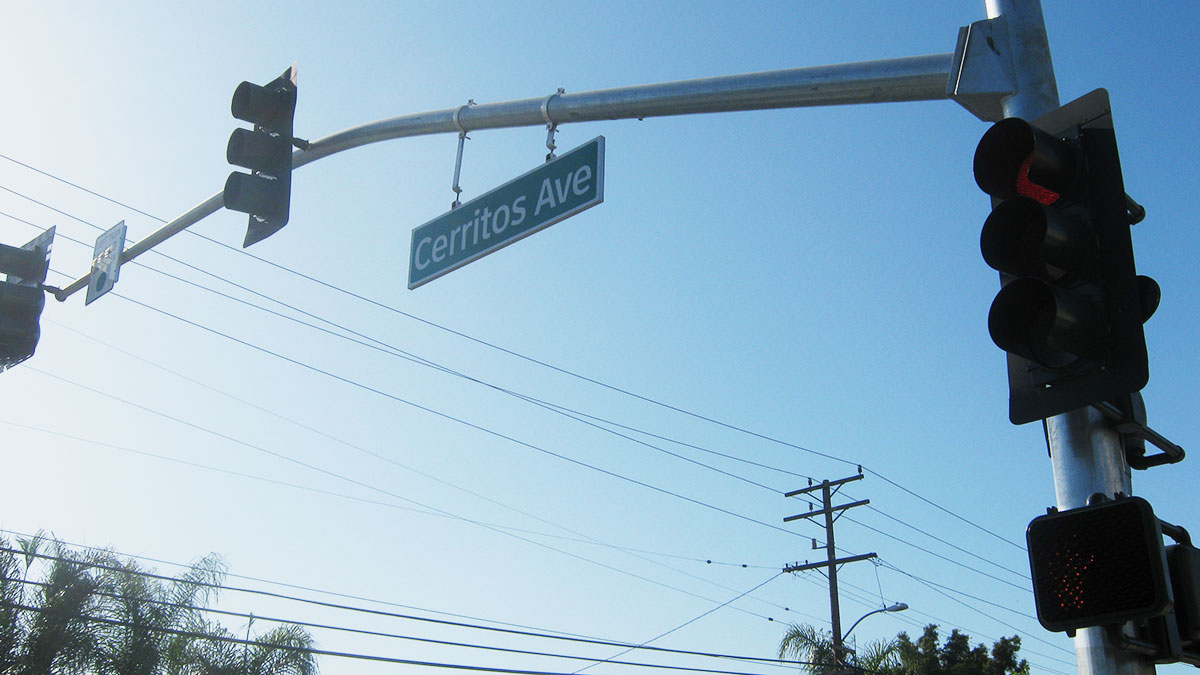 Cerritos Avenue Reconstruction and Sanitary Sewer Improvements