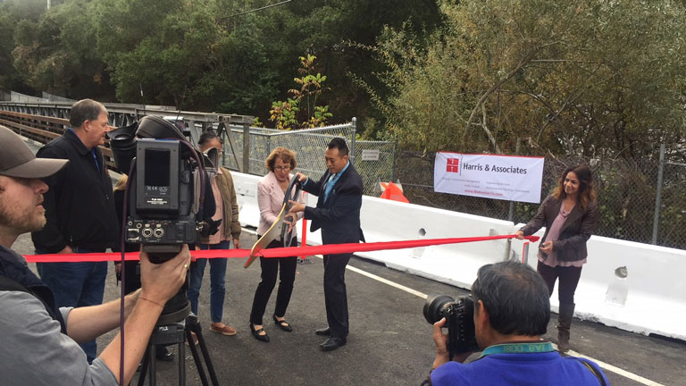 Moraga's Canyon Road Bridge Reopens!