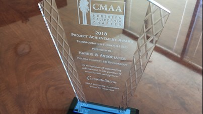 CMAA Norcal 2018 Project Achievement Award