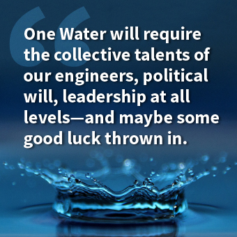 "One Goal: ""One Water"""