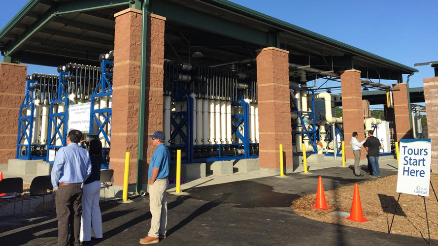 Carlsbad Water Recycling Facility Phase III Expansion Project Commissioning Ceremony