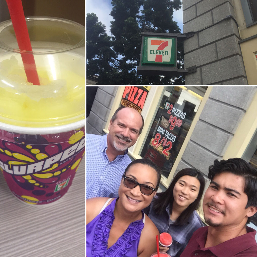 It would be foolish not to take part in free Slurpee day!