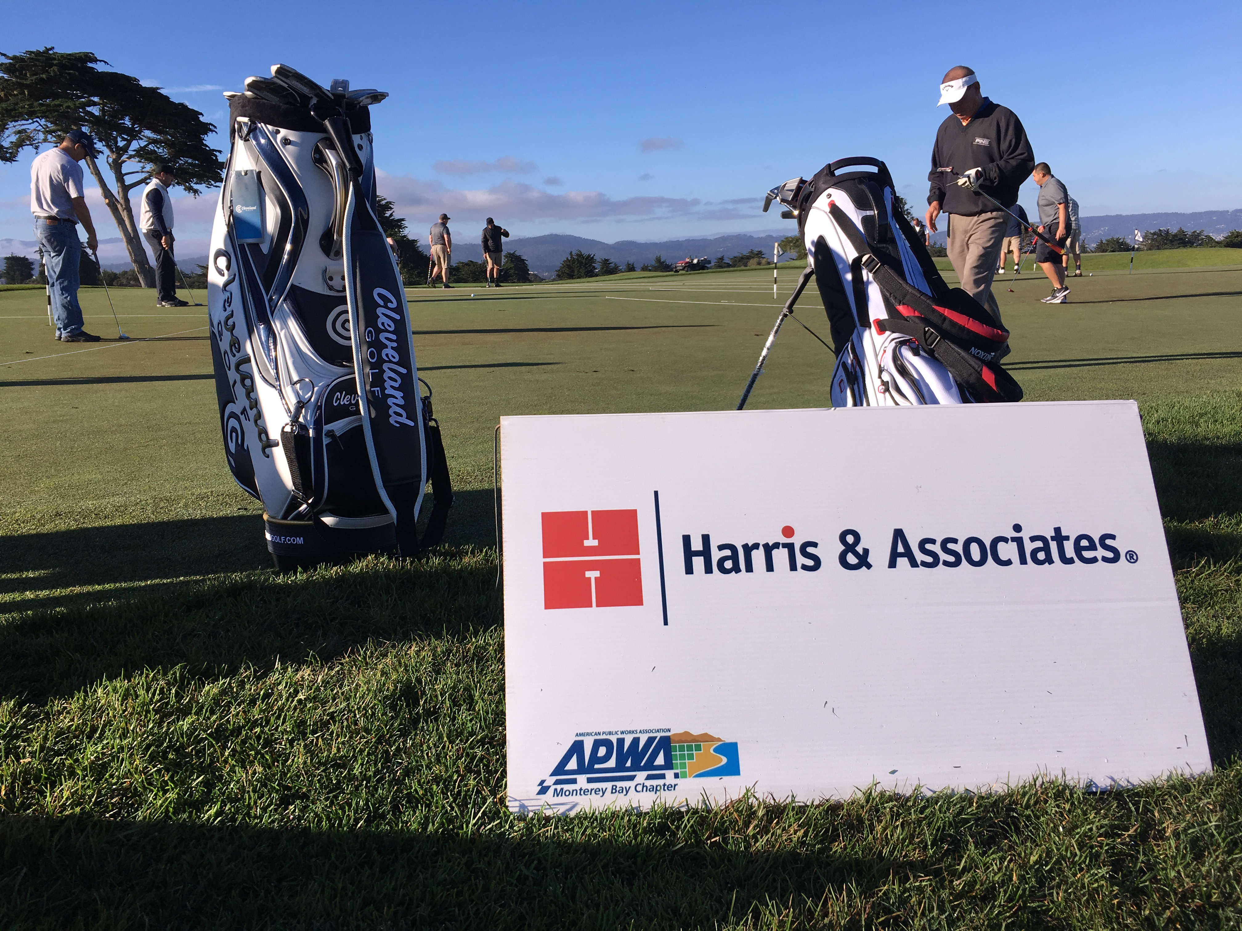Harris sponsors a hole at the APWA Monterey Bay Golf Fundrasier