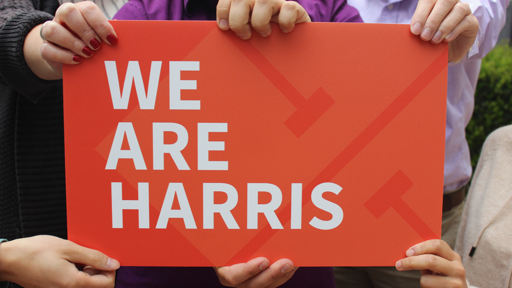 "We work in many locations, from many offices and jobsites, but we are always ""One Harris."""