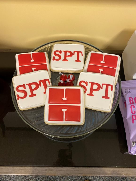 Harris cookies made for our Strategic Pursuits Team annual retreat.